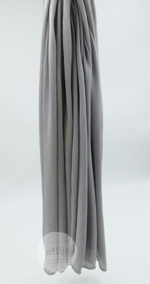 Hijab Satin gris